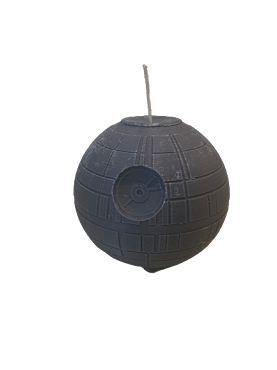 Death Star Candle