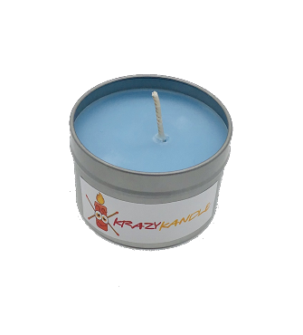 Custom Tin Container Candle