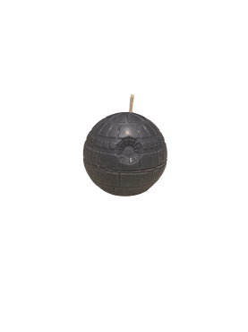 Mini Death Star Candle