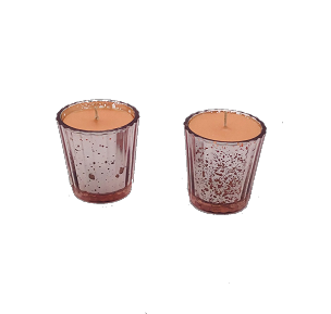Pink Shot Glass Candles