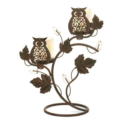Wise Owl Duo Votive Stand